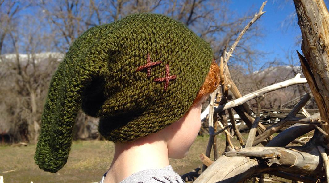 Zelda Hat Knitting Pattern : Link s Hat