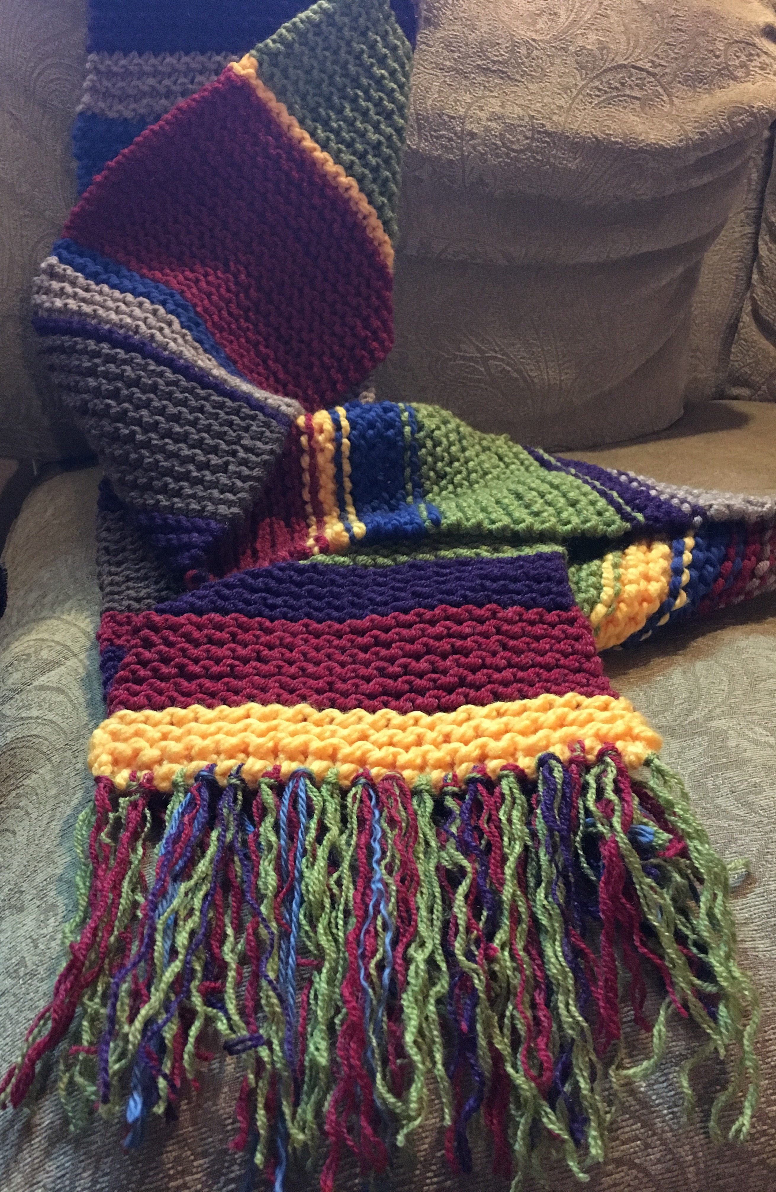 Doctor Whos Stashbuster Scarf